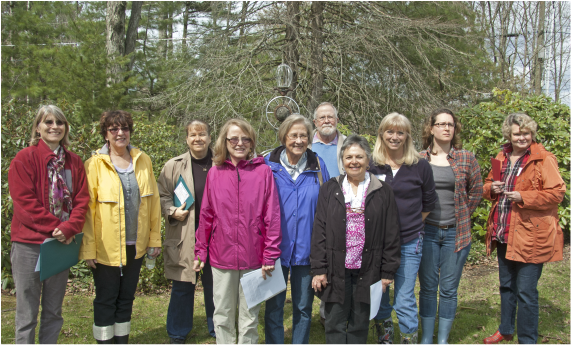 A group of our docents.